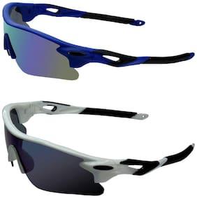 Zyaden Combo of 2 Sport Sunglasses
