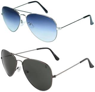 Zyaden Men Aviators Sunglasses