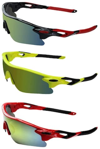 c179b90ef0 Buy Zyaden Combo of 3 Sport Sunglasses Online at Low Prices in India ...