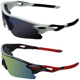 Zyaden Combo of 2 Sport Sunglasses