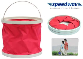 Speedwav Foldable Cleaning Water Bucket / Trash Bin - Assorted Colors