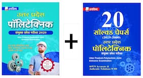 ARVIND Combo of UP Polytechnic JEE Guide And UP Polytechnic Set of 20 Solved Question Papers from 2019-2000. Book With Best Quality Study Material UPPOLYTECHNIC Exam Suited