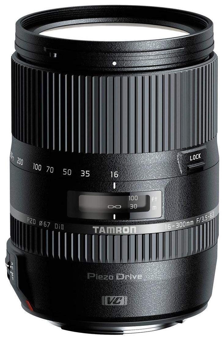 Tamron B016 16 300 mm F/3.5 6.3 Di II VC PZD For Nikon Lens  Black