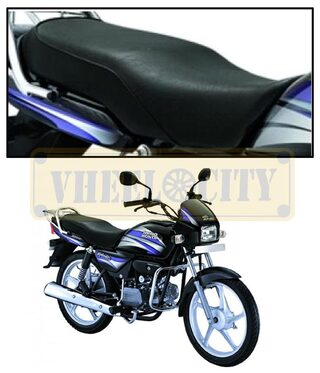 Vheelocityin High Quality Bike Seat Cover for Hero Motocorp Splendor Pro