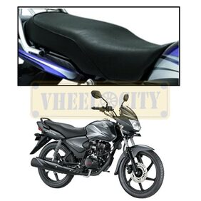 Vheelocityin High Quality Bike Seat Cover for Honda CB Shine