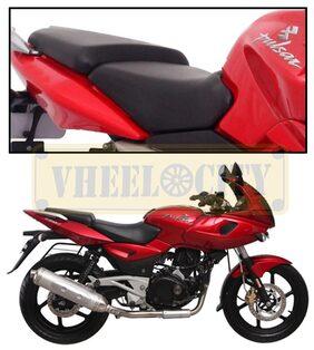 Vheelocityin High Quality Bike Seat Cover for Bajaj Pulsar 220