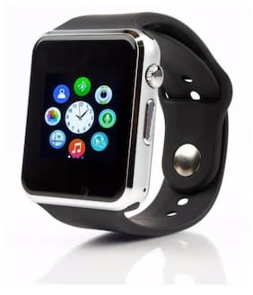 A-One India A1 Black Multifunctional Smartwatch