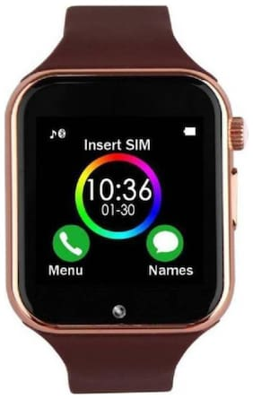 A-One India A1 Gold Multifunctional Smartwatch