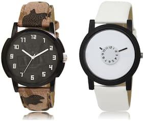 Men Green;White Analog Watch