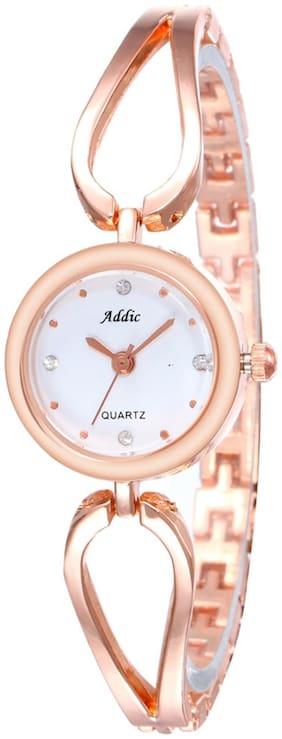 Addic Glamorous-Diva Rose Gold Girl's & Women's Watch.