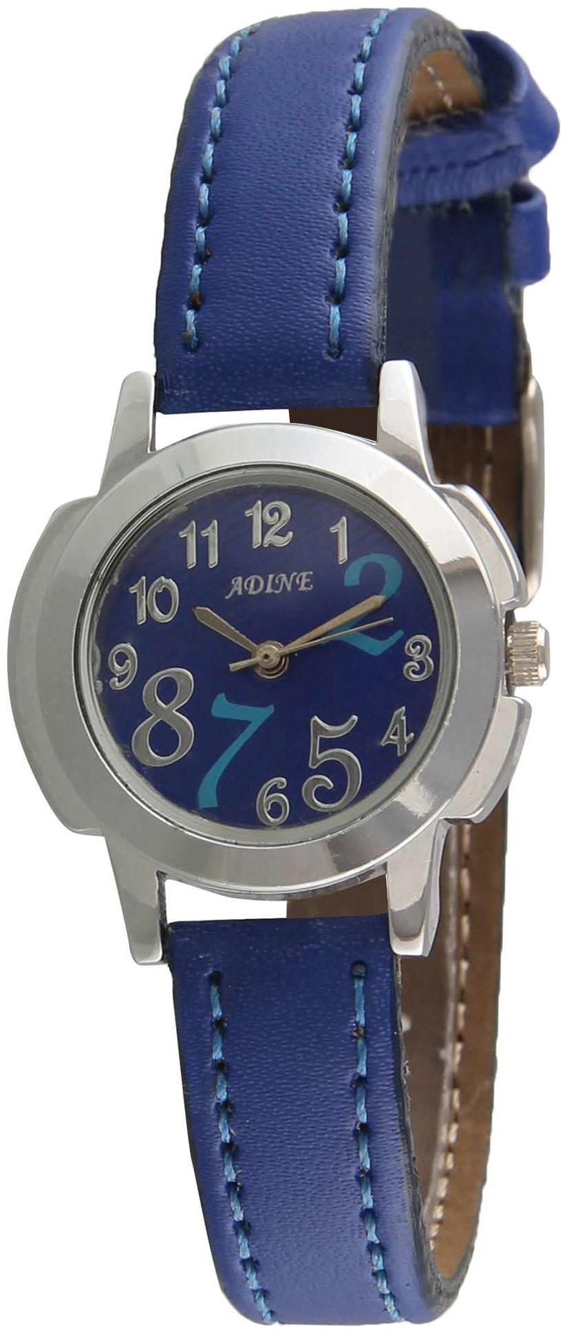 Adine blue dial analog watch for women by R S