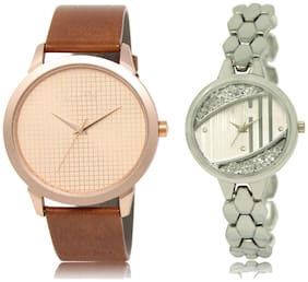 ADK Watches for Couple (Men And Women)