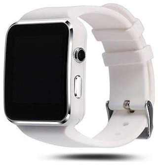 Adlyn Unisex Silver Smart Watch