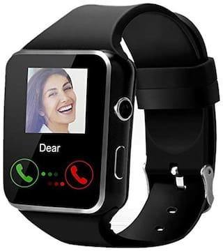 Adlynlife X9S Bluetooth Smart Watch, Touchscreen Smart Wrist Watch Smartwatch Phone Fitness Tracker with SIM SD Card Camera Pedometer Compatible iOS iPhone Android for Men Women Boys Girls (Black)