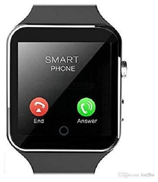 Adlynlife X3S Bluetooth Smart Watch, Touchscreen Smart Wrist Watch Smartwatch Phone Fitness Tracker with SIM SD Card Camera Pedometer Compatible iOS iPhone Android for Men Women Boys Girls (Black)