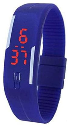 ADVIL Digital Red Dial Women's Watch