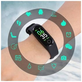 AFRODIVE M3 Fitness Band;Activity Tracker Watch;Hearth Rate Monitor;LED Touchscreen;Calorie Counter;Step