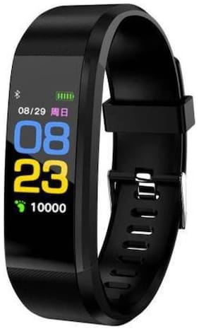 AFRODIVE OLED Screen Smart Band Heart Pulse To Your Significant Other Via Taps Smart Waterproof Sport Bracelet Black