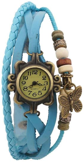 AIVOR LATEST ATTRACTIVE FANCY ANALOG WATCH COLLECTION FOR WOMEN PACK OF - 1 D_SKYBLUE