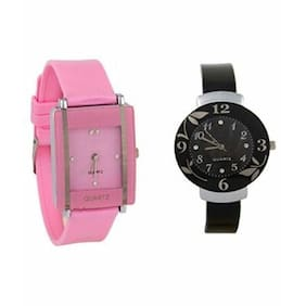 AIVOR Multicolor Analog Watches - Pack of 2