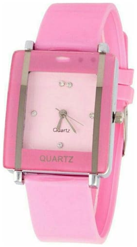 AIVOR NEW PINK ANALOG WATCH FOR WOMEN