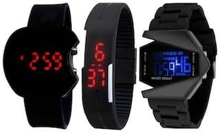 NEWMEN Men Black - Digital Watch