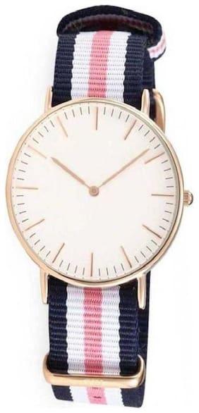 White Analog Watch