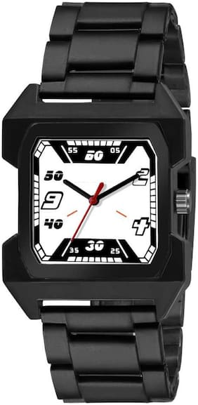 Ak Men_67 White Dial Square New Arrival Exclusive Analog Watch For Men
