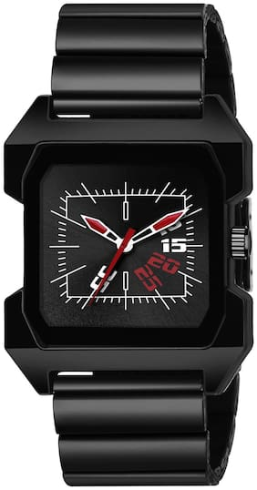 Ak Men_76 Black Dial Square New Arrival Exclusive Analog Watch For Men