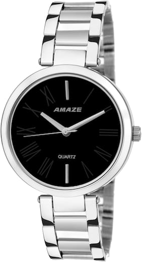Amaze Analogue Black Dial Watch for Women CT79