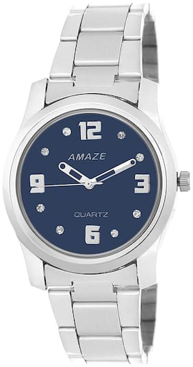 Amaze Analog Blue Dial Girl Watches