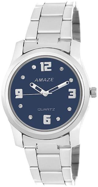 Amaze Analog Blue Dial Girl Watches