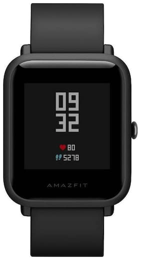 Men Black Smart Watch;Fitness Band & Trackers