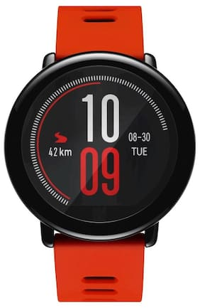 Amazfit Pace Fitness Tracker GPS Running Smartwatch (Red)