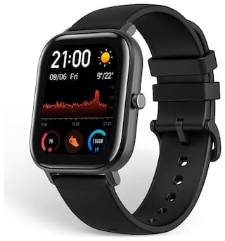 AMAZFIT GTS OBSIDIAN BLACK SMART WATCH