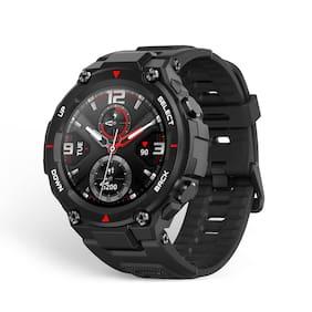 Amazfit T-Rex Rock Black Smart Watch For Unisex