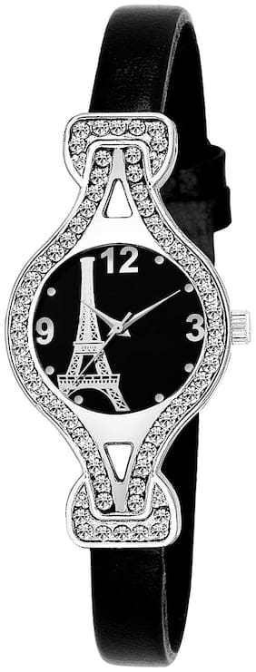 AMINO LADIES-937 EIFFEL TOWER BLACK DIAL DESIGN FANCY AND ATTRACTIVE WATCH FOR WOMEN Watch - For Women