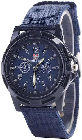Analog Watch For Men-PTM-W082-Blue