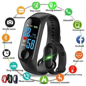 ANGLINA M3 Smart Band With Heart Rate Sensor Features And Many Other Impressive Features, Water Proof Or Sweat Free
