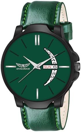 Men Green Analog Watch