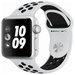 Apple Watch Series 3 Nike+ GPS;38mm Silver Aluminium Case with Pure Platinum/Black Nike Sport Band