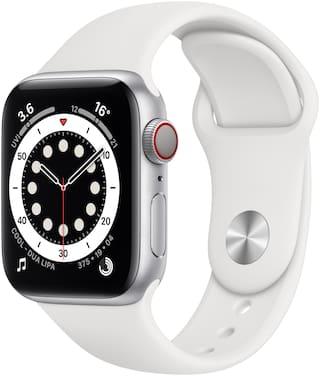 Apple Series 6 GPS + Cellular Unisex 40 mm White Smart Watch