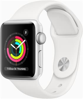 Unisex White Fitness Band & Trackers