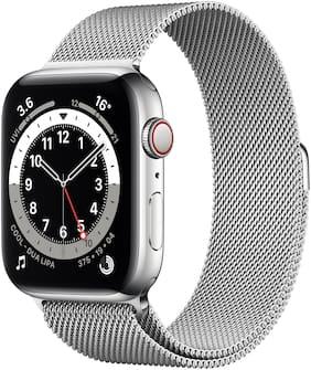 Unisex Silver Smart Watch