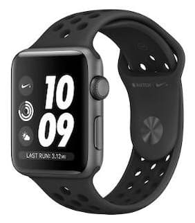 Apple Watch Series 3 Nike+ GPS;38mm Space Grey Aluminium Case with Anthracite/Black Nike Sport Band