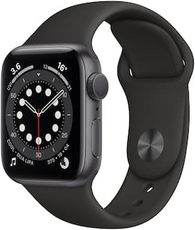 Apple Watch Series 6 GPS 40mm Space Grey Aluminium Case With Black Sport Band - Regular