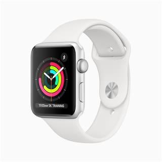 Apple Series 3 GPS + Cellular Men 42 mm White Smart Watch