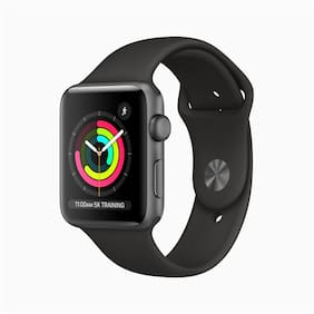 Apple Watch Series 3 GPS42mm Space Grey Aluminium Case with Black Sport Band
