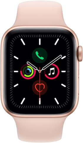 Apple Watch Series 5 GPS  Cellular 44mm Gold Aluminium Case with Pink Sand Sport Band