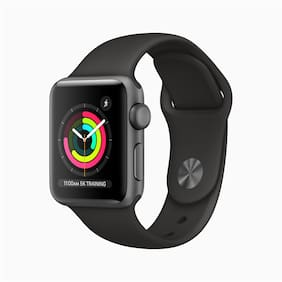Apple Watch Series 3 GPS  38 mm Space Grey Aluminium Case with Black Sport Band